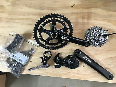 SRAM Rival 10s group set, in excellent condition, road bike