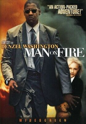 Man on Fire [New DVD] Dolby, Digital Theater System, Dubbed, Subtitled, Widesc