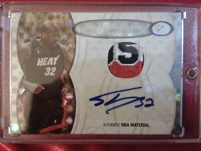 Topps Shaquille O'Neal auto patch true 1/1 autograph