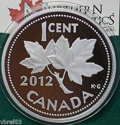 2012 Canada HUGE 1 cent Farewell to the penny 5 oz. 99.99% silver COA #086/1500