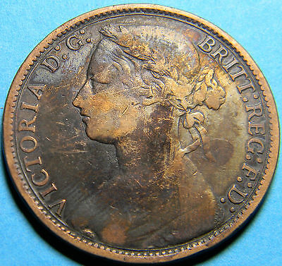 Great Britain 1877 Penny