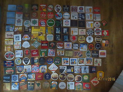 135 different  AUSTRALIAN Issue  BREWERIES  collectable COASTERS,