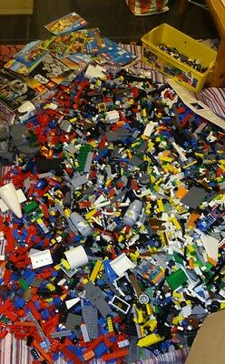 Lego bulk mixed/assorted pieces over12 kg city,LOTR,Starwars.70 + minifigures