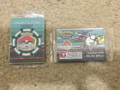 Pokemon World Championship 2015 Champions Festival Cards COMPLETE SET Sealed