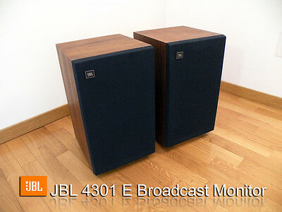 JBL 4301 E  - Broadcast speakers Active monitor