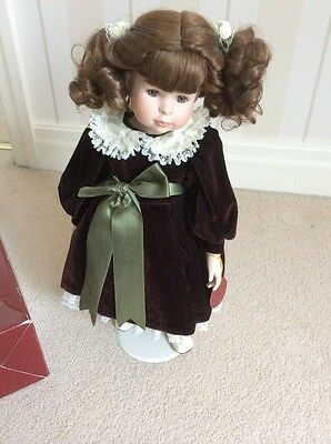 porcelain doll from H Samuel With Tags