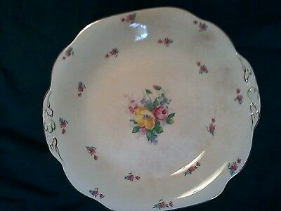 Imperial Porcelain Plate- Made In England-Vintage-Collectors