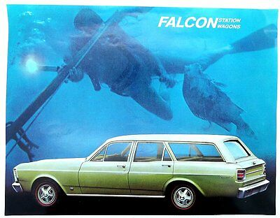 1960's Ford Falcon Station Wagon Brochure/Flyer