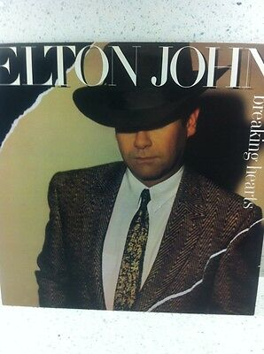 Elton John Breaking Hearts Vinyl
