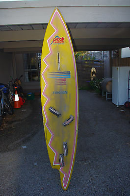 Unusual Vintage Tyronsea Trigger Brothers Windsurfer Sailboard, Board only