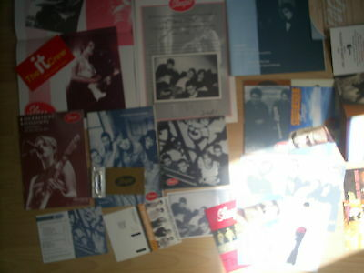 Sleeper Louise Wener Fan Club items mags, poster, notebook, postcards, etc.