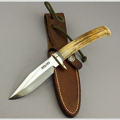 "Randall Made Knife Model 5-4 w/ 4"" Carbon Steel Blade — early 1990s — Excellent!"