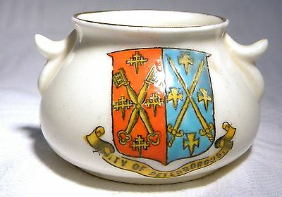 ARCADIAN  CRESTED  CHINA CITY OF PETERBOROUGH  (B26b)