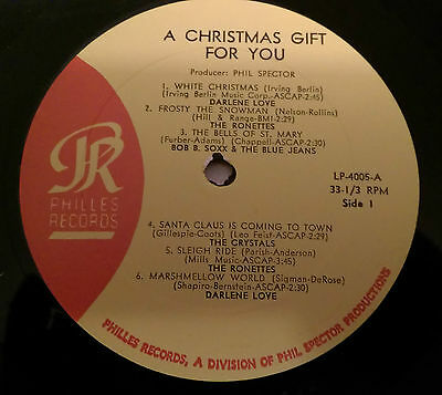 A CHRISTMAS GIFT FOR YOU FROM PHILLES RECORDS Vinyl LP PHLP 4005 RARE UNPLAYED