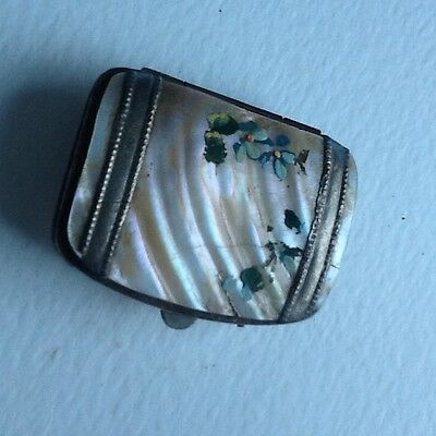 old small mother of pearl purse