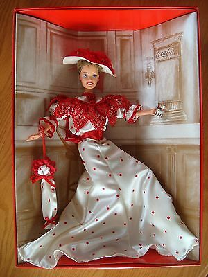 Soda Fountain Sweetheart Coca-Cola Barbie Doll 1996 Mattel 1st in Series ~MINT!