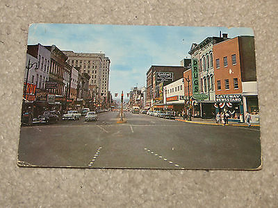 Vintage 1960 Chattanooga Market Street Real Photo Postcard