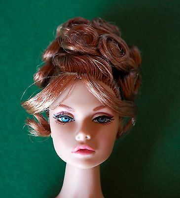 MINT CORIE BRATTER NUDE DOLL Poppy Parker NEW + doll stand Fashion Royalty