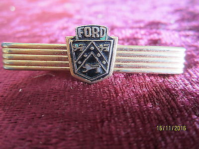 Rare Vintage Ford Badge Tie Bar