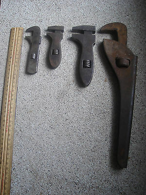 Vintage Wrench's x 4