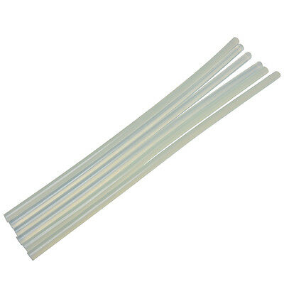 "6X Dia Clear Round Perspex Acrylic Rod PMMA Circular Bar 25"" Length 7mm HGUK"