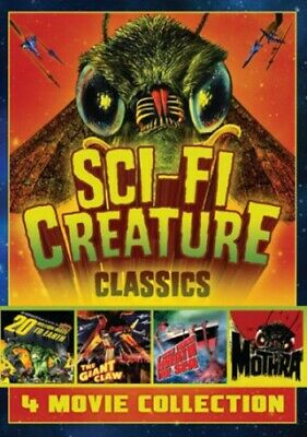 Sci-Fi Creature Classics: 4 Movie Collection [New DVD] Black & White, Full Fra