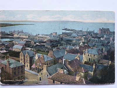 Kirkwall from Cathedral Orkney