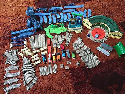 Massive Thomas the Tank Engine Trackmaster Train Set Including 7 Engines!!