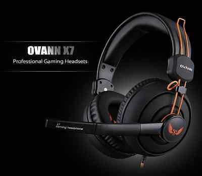 Ovann X7 Stereo Pro Gaming Headset Headphones with Microphone 3.5mm