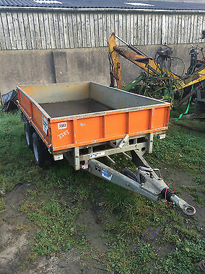 ifor williams trailer 8 x 5 with sides