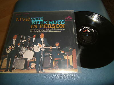 LP - The Blue Boys - In Person - Country Rock Oldie