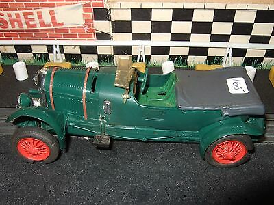 Scalextric C64 French Green Bentley 4.5L