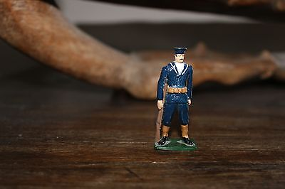 Wwi Royal Navy Able Seaman Sentry Toy Soldier Figure - Very Unusual