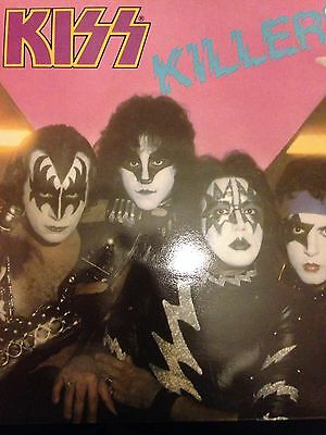 KISS Killers UK Vinyl 1982
