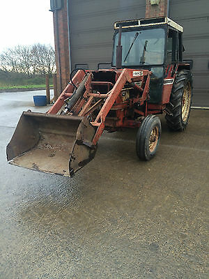 International 684 tractor machinery spares or repairs