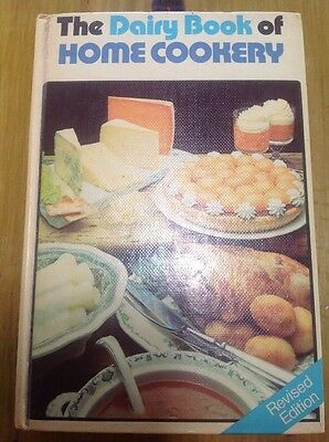 Dairy book of home cookery 1978 revised edition IMMACULATE