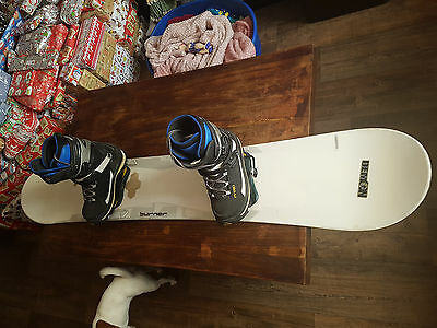 Salomon 170Cm Snowboard With Bindings And Nitro Boots