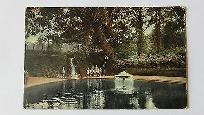 Postcard Lickey Hills Fountain, Worcestershire. Unposted. Early 20th Century.