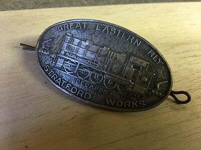 Vintage Great Eastern Railway Decapod  Cap Badge