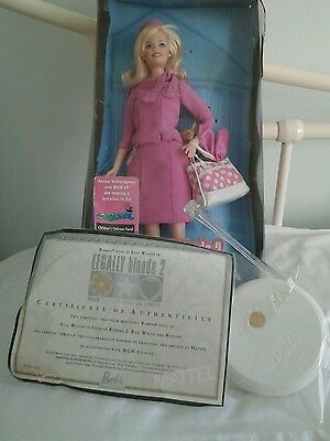 Legally blonde 2 Barbie Collectors Edition doll 2003.