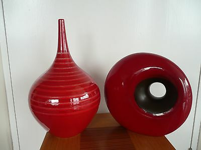 Next Red Decorative Ornament And Vase