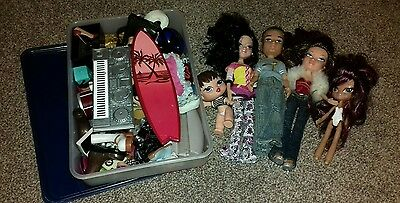 Bratz Bundle - Dolls And Large Selection Of Accessories