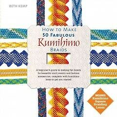 How to Make 50 Fabulous Kumihimo Braids - NEW - 9780764167997 by Kemp, Beth