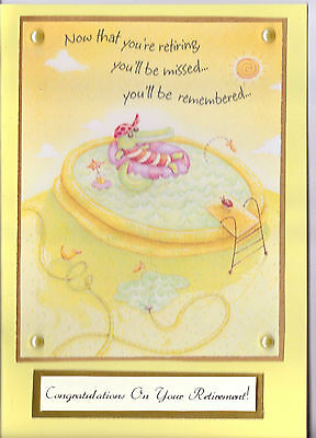 Cutie A5 Handmade Lemon  Get Well Soon Card
