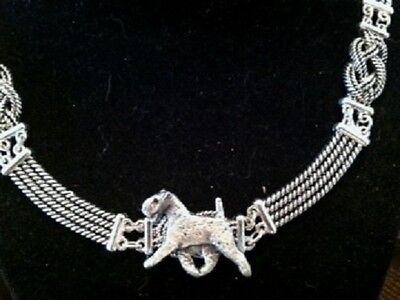 Airedale/ welsh Terrie Knot Necklace~dog jewelry~ celtic~Infinity Knot  Classic!