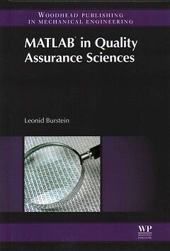 MATLAB in Quality Assurance Sciences - NEW - 9780857094872 by Burstein, Leonid