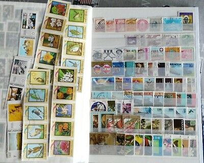 100 francobolli AMERICA CENTRALE - 100 stamps from CENTRAL AMERICA as picture