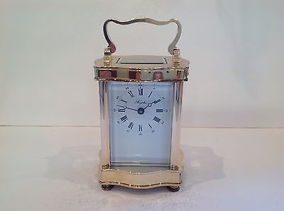 Beautiful Vintage L'Epee Carriage Clock Completely Overhauled In December 2016