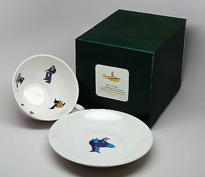 Paul Smith x Thomas Goode BREAKFAST CUP & SAUCER The Beatles Yellow Submarine 23