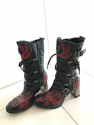 Chaussures New Rock Femme - P39 - COMME NEUF